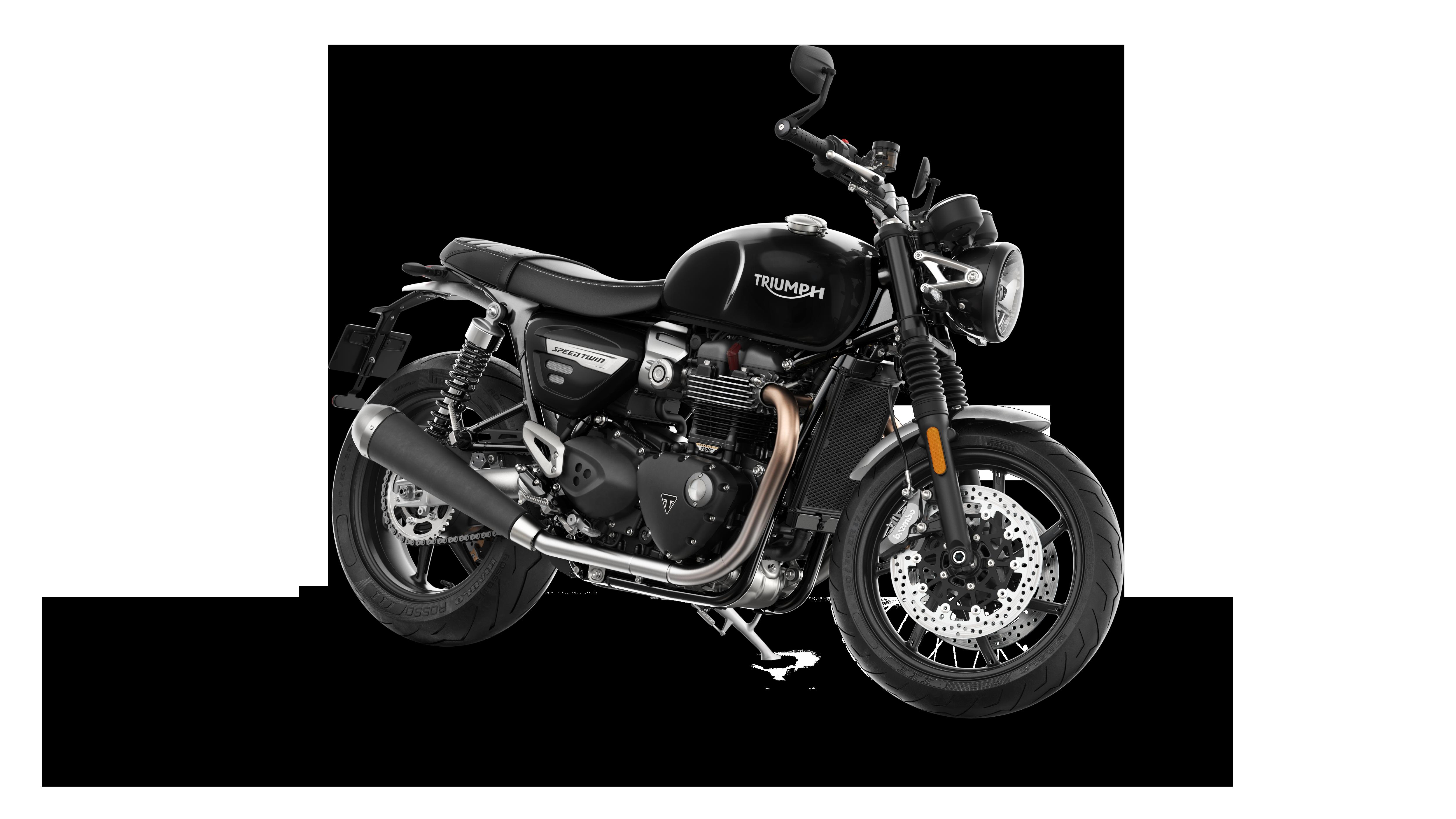 Nova Triumph Speed Twin Classica Poderosa Momento Moto